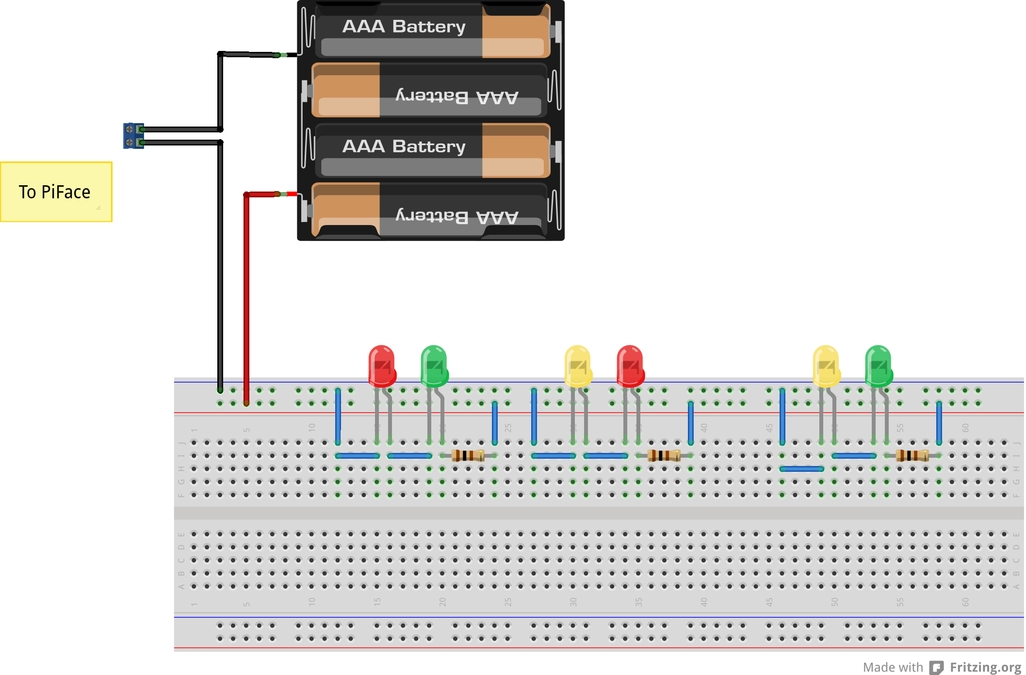 Internet Controlled Lights Next Project Wiring Diagram Of X Mas Figure 2 Bread Board View Once The Christmas Led Are Completed In Arangement According To Schematic